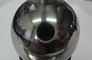 タングステンカーバイド製 球体鏡面加工