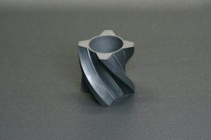 SiC製 ヘリカル切削加工部品